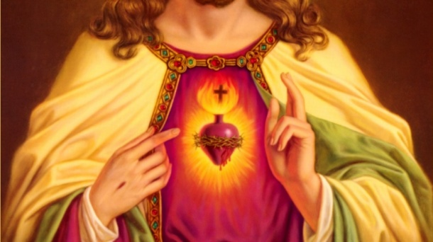 Love of the Sacred Heart, illustrated by St.Mechtilde
